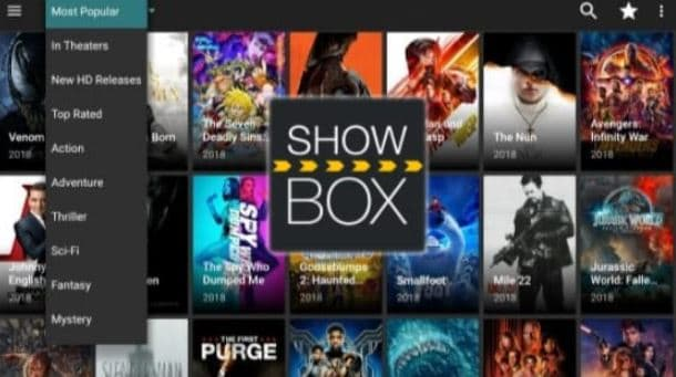 showbox - Best Live TV Apps for Android