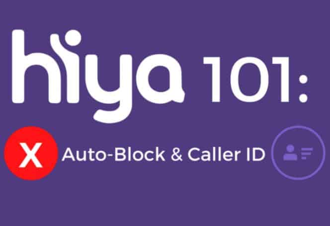 Caller ID and Block
