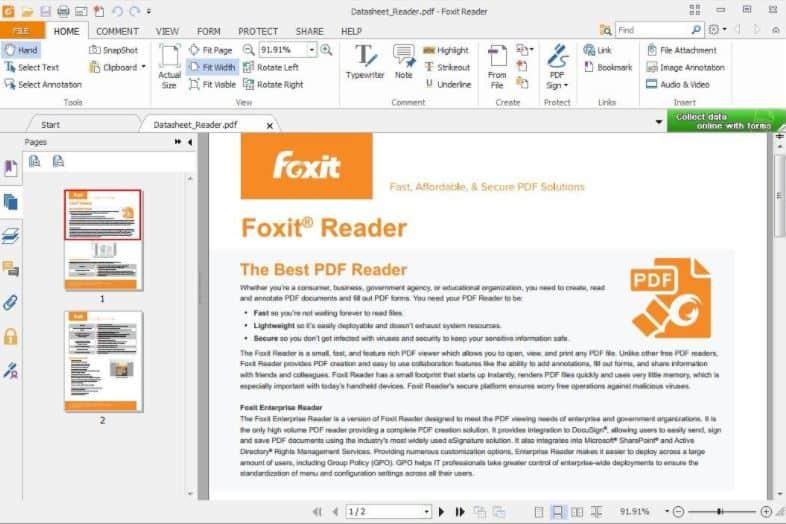 Foxit PDF Reader & Ebook