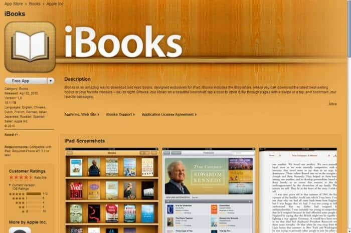 Best Ebook for iOS