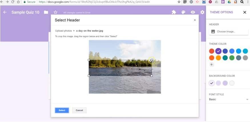 How to Customize Google Forms With Themes