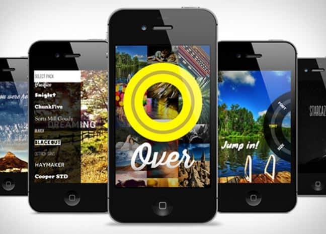 Over app