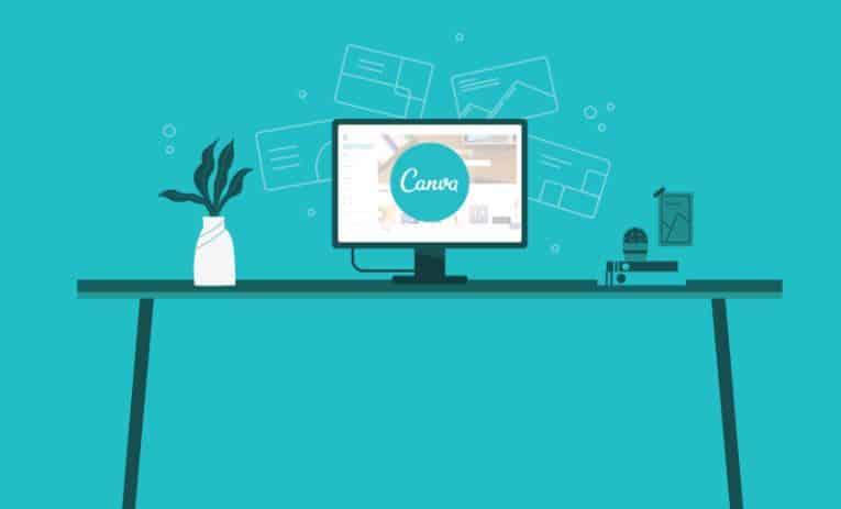 canva design flyer