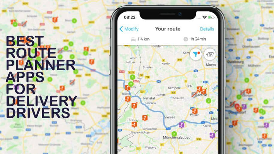 Best Route Planner Apps for Delivery Drivers