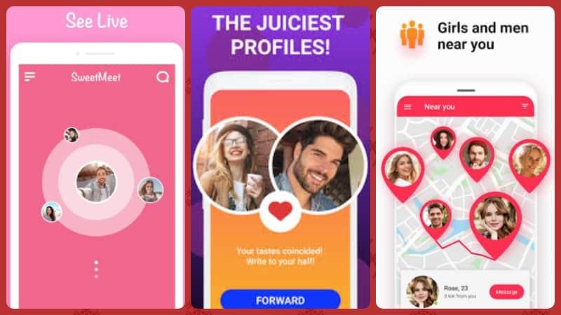 SweetMeet chat app